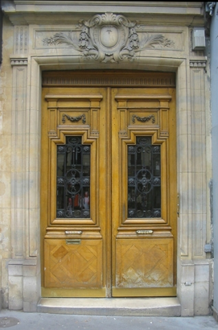 "Paris doors ""Next Door"""