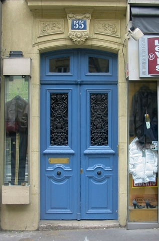 "Doors from Paris ""No. 55"""
