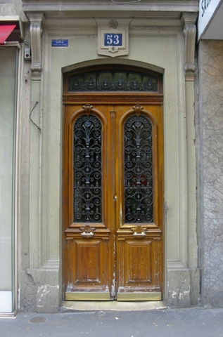 "Doors from Paris ""No 53"""