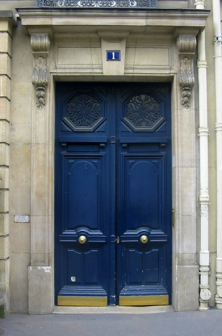 "Doors from Paris ""No 1"""