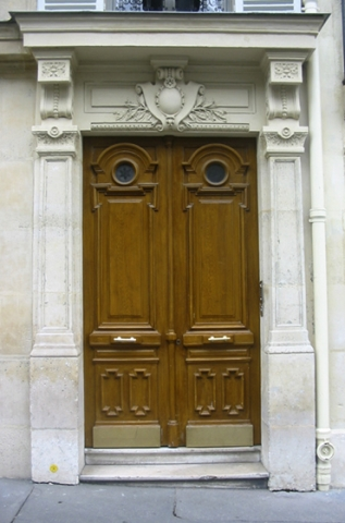 "Doors from Paris ""Double Oak Doors"""
