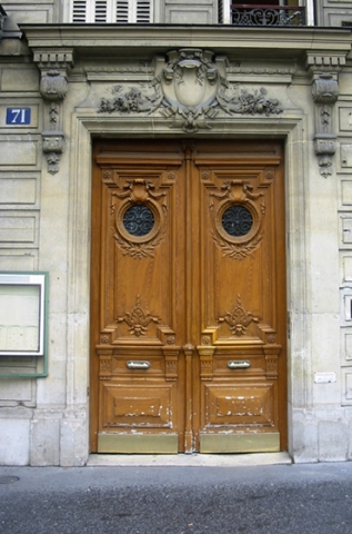 "Doors from Paris ""No 71"""