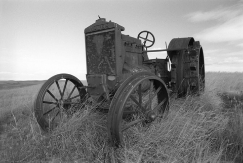 """Wheels of Time"" Wallis tractor"