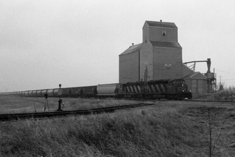 Alix Elevator and Train