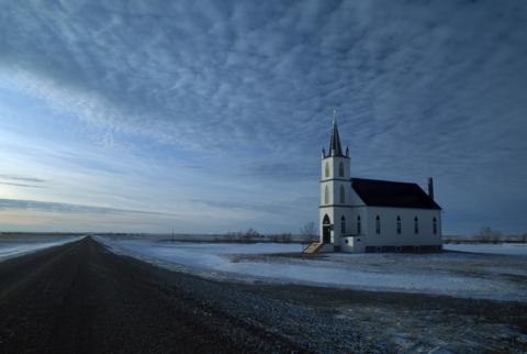 Zion Lutheran church near Morse, Saskatchewan