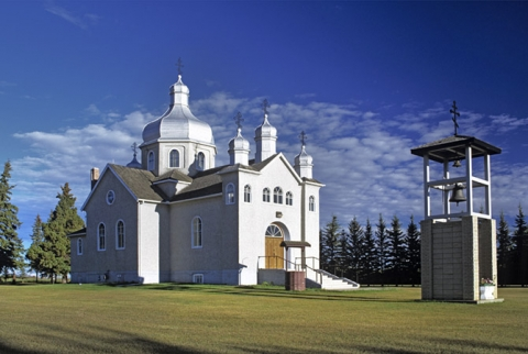Waskatenau Orthodox church Alberta