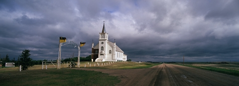 Holy Rosary church, Saskatchewan