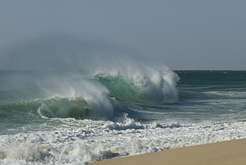"Image of waves in mexico ""Pacific Power"""