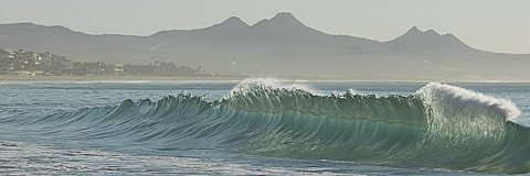 "Waves of San Jose del Cabo, Mexico. entitled  ""Form"""