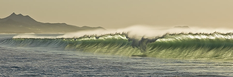 "Photograph of waves, Mexico.  ""Leading the Way"""