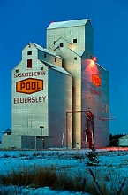 Eldersley Wheat Pool Elevator, Saskatchewan