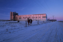 AgPro Grain Terminal at Moose Jaw, Saskatchewan