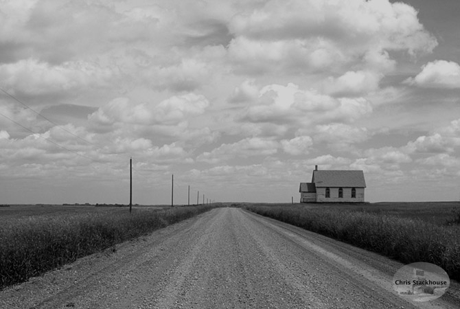A Place in Time, School house in Manitoba
