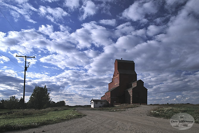 Image of wooden elevator at Beatty, SK